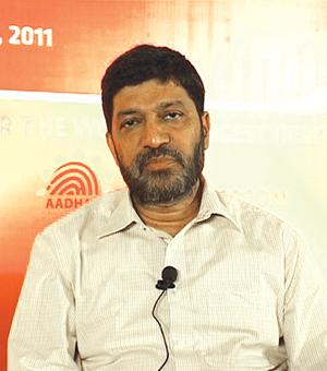 Dr Ashok DalwaiDeputy Director General, UIDAI, Bangalore