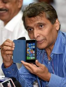 Railway Minister Suresh Prabhu Launches Women Security App