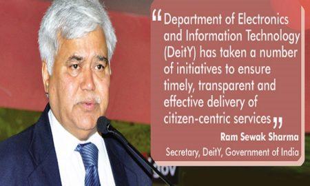 Ram Sewak Sharma, Secretary, DeitY, Government of India