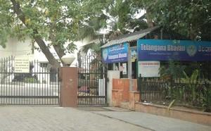 Telangana Bhavan at Sabari Block in Delhi