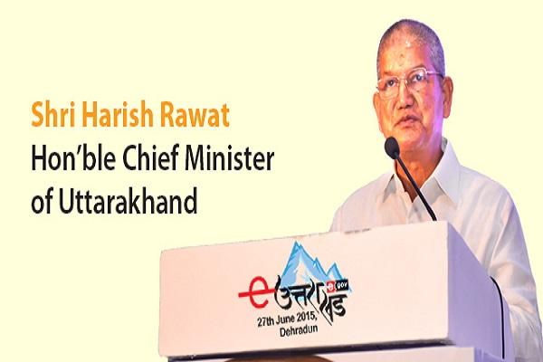 Chief Minister of Uttarakhand, Shri Harish Rawat
