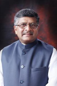 Ravi_Shankar_Prasad_At_Office