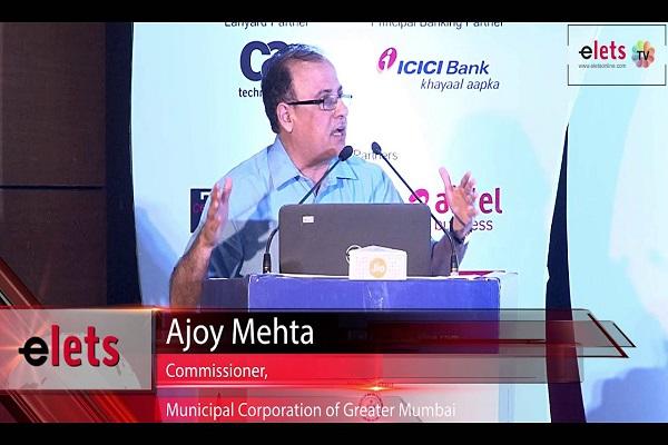 Ajoy Mehta, Municipal Commissioner, Municipal Corporation of Greater Mumbai