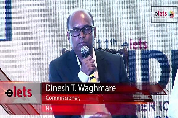 Dinesh T Waghmare, Navi Mumbai Municipal Commissioner