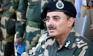 K K Sharma BSF DG