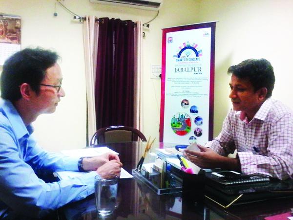 Smart Brains Discuss Jabalpur Smart City