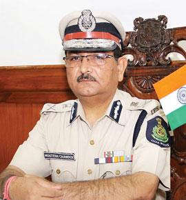 Muktesh ChanderDirector General of Police (DGP)Goa