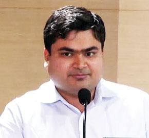 Sarfaraz Ahmed Commissioner of the Greater Warangal Municipal Corporation
