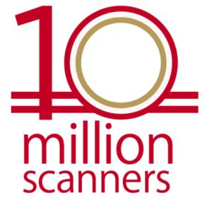 10 million scanners