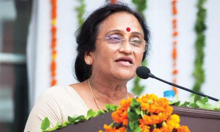 Prof. Rita Bahuguna Joshi, Minister for Tourism and Women & Child Welfare, Family Welfare, Government of Uttar Pradesh