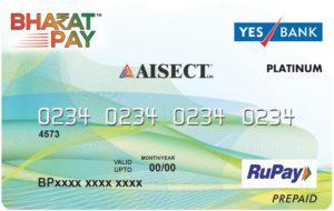AISECT BharatPay Prepaid Card