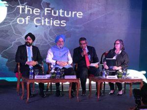 Dr Hardeep Singh Puri launches 'Uber Movement' in Delhi
