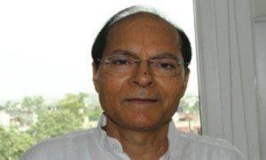 Retired IAS officer Girish Chandra Chaturvedi