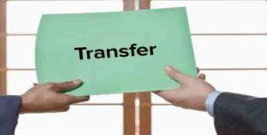 transfers 7 IAS officers