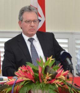 Andrew Ayre, British Deputy High Commissioner