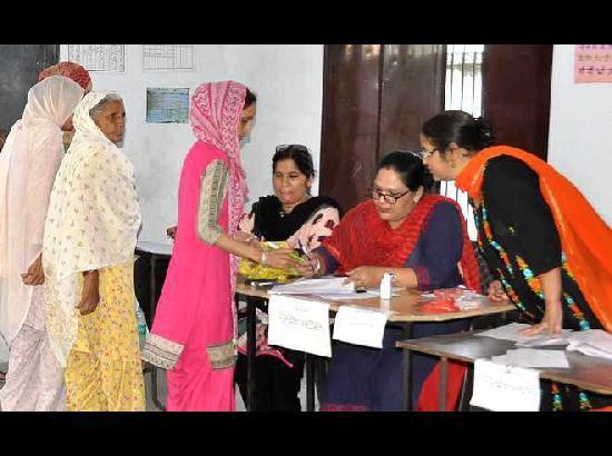 women Polling Booths