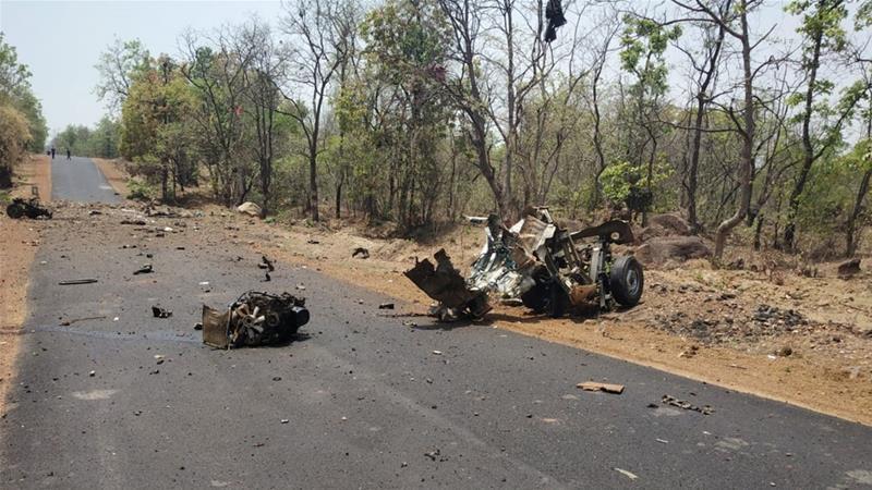 Maoist attack in Gadchiroli