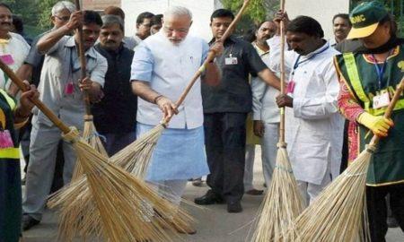 PM Modi for Swachh Bharat
