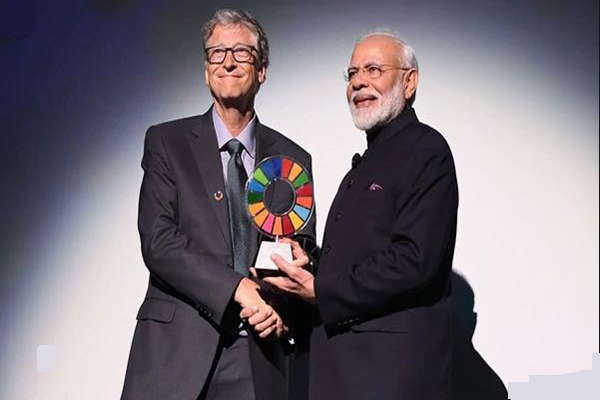 PM Narendra Modi receives 2019 Global Goalkeeper Award for Swachh Bharat Mission, dedicates to 130 crores Indians