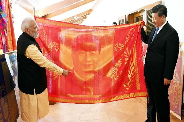 PM Modi meets Xi Jinping