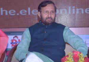 Prakash Javadekar additional charge Ministry of Heavy Industries and Public Enterprises