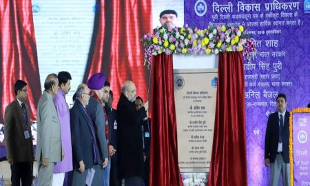 Union Home Minister Amit Shah lays down foundation stone for Integrated Development of East Delhi Hub
