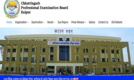 CGTET 2020 admit card to release today