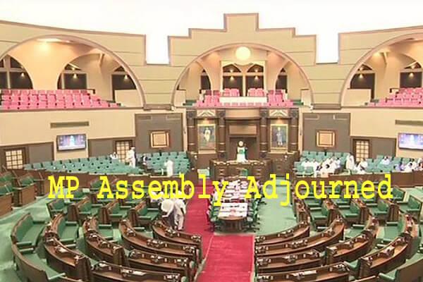 MP Assembly adjourned