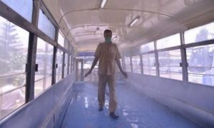 KSRTC launches 'sanitizer bus' to disinfect people in public places