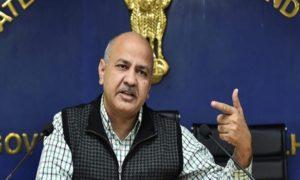 Manish Sisodia, Deputy Chief Minister of Delhi