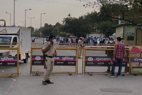Haryana govt seals Delhi-Gurugram border again