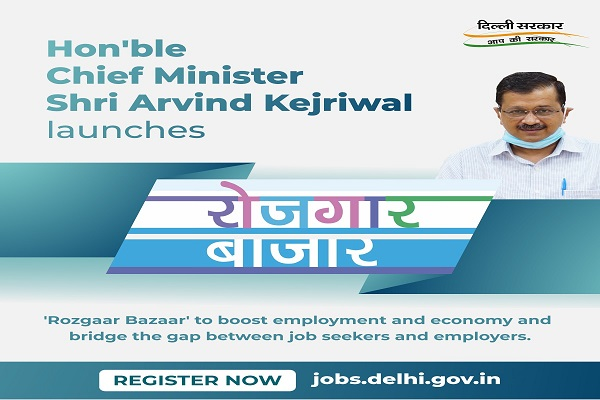 Arvind Kejriwal launches 'Rozgaar Bazaar' to aid jobless & revive economy