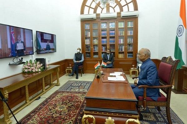 President of India Ram Nath Kovind