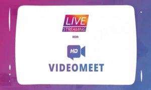 VideoMeet introduces Live Streaming via Facebook & YouTube platforms