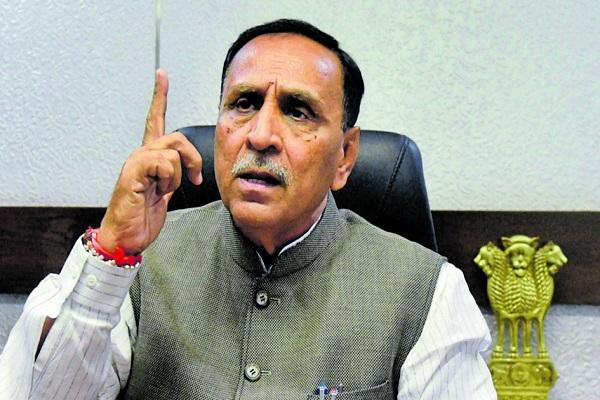 Vijay Rupani , Chief Minister of Gujarat