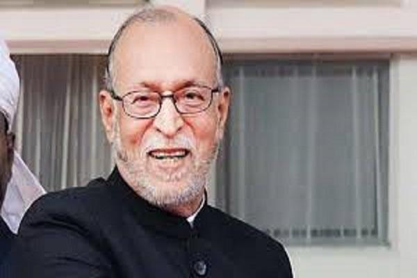 Lieutenant Governor (Lt) Governor of Delhi Anil Baijal