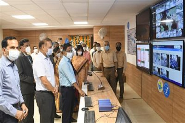 Manoj Parida inaugurates ICCC as a pilot in Chandigarh
