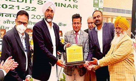NABARD awards 'RIDF21 Most Impactful Project' to Punjab Soils Deptt