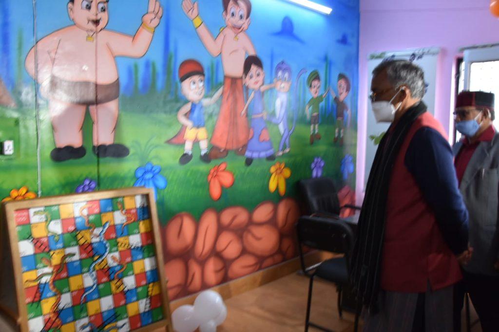 Uttarakhand CM inaugurates 'Bal Mitra' police station