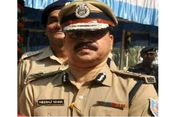 Neeraj Sinha IPS to take over as DGP Jharkhand