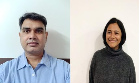 Kiran Avadhanula and Archana Jayaraman, KfW New Delhi Office