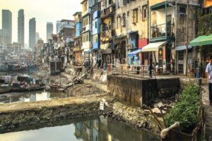 Slum in Maharashtra
