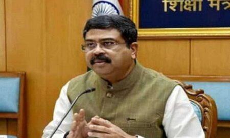 Education Minister Dharmendra Pradhan