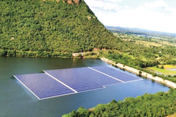 Floating Solar Plant in Tirupati