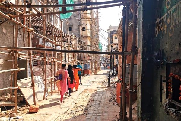 Chowkri Modikhana Heritage Walk Works under Smart city